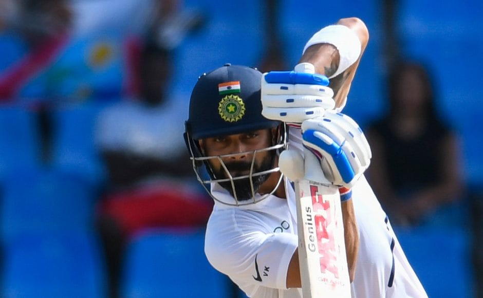 In his 111-ball knock of 51 runs, Virat Kohli has only hit two fours so far. He will look to continue the strong partnership with Rahane when the players take the field on Sunday for the fourth day's play. AFP