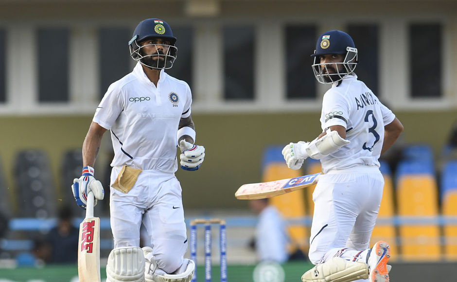 Virat Kohli, Ajinkya Rahane's unbeaten half-centuries put India in commanding position on Day 3 of first Test against West Indies in Antigua