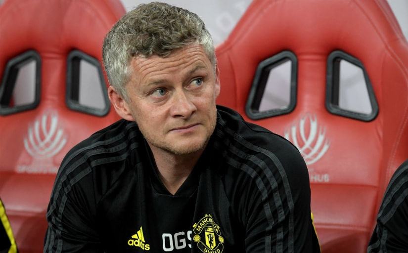 Solskjaer faces an uphill task in his first full season. AFP