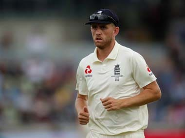 Ashes 2019: England fast bowler Olly Stone ruled out of second test against Australia with back injury