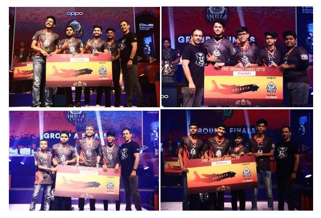 PUBG Mobile India Tour Jaipur Finals conclude with four teams moving to the grand finals in Kolkata