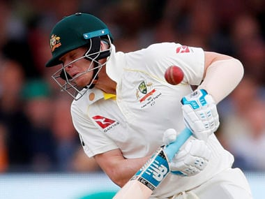 Ashes 2019: Steve Smith may be forced to wear neck guard on his helmet after being struck by Jofra Archer bouncer, says Australia coach Justin Langer