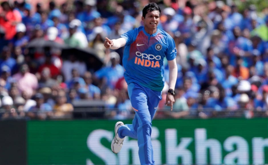 Debutant Navdeep Saini had a fantastic outing in Florida as the fast bowler claimed three wickets along with a maiden in the final over of the innings that helped visitors restrict Windies for a paltry 95. AP
