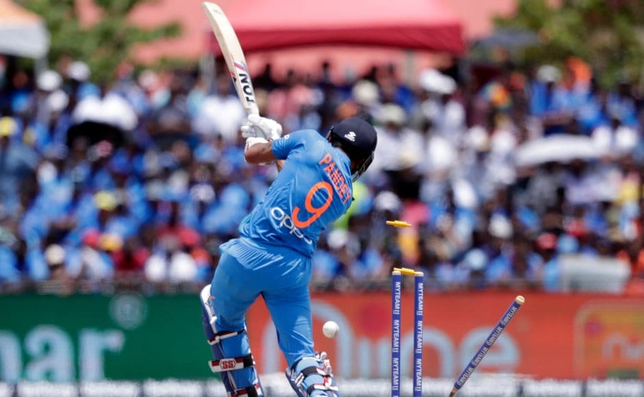 India kept losing wickets during their innings, but the target of 96 was never going to be enough for Virat Kohli's men. Eventually Washington Sundar and Ravindra Jadeja took India over the line in the 18th over to gain 1-0 lead in three match T20I series. AP