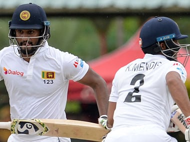 Sri Lanka vs New Zealand: Dimuth Karunaratne helps Sri Lanka to 85/2 on rain-hit first day of second Test