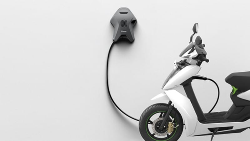 Ather Energy unveils a new home charging point called the Ather Dot