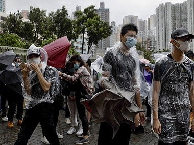 Hong Kong pro-democracy protests: Tensions continue as protesters appear in court on charges of rioting
