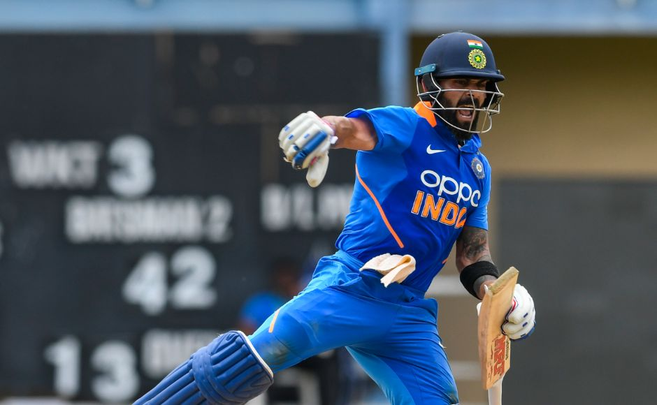 Man of the Match Virat Kohli scored 120 off 125 balls with 14 fours and four sixes adorning his 42nd ODI hundred. Kohli's eighth ODI hundred against the West Indies and second in succession in the Caribbean underlined his supreme class and ravenous appetite for runs. AFP