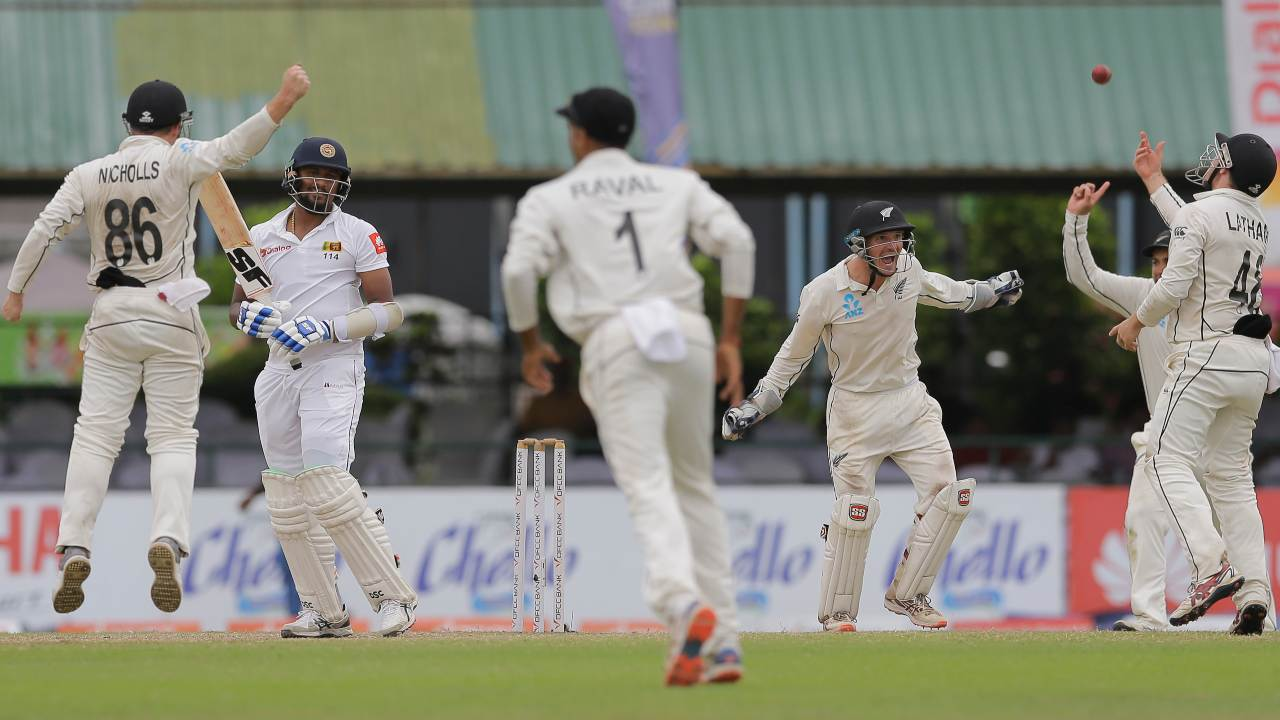 Sri Lanka vs New Zealand: Kiwis defy bad light, rain-interruptions to clinch comprehensive innings victory against hosts on fifth day, square series 1-1- Firstcricket News, Firstpost