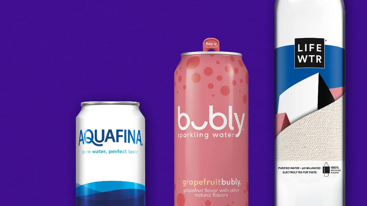 PepsiCo to start distribution of Aquafina water in aluminum cans from 2020