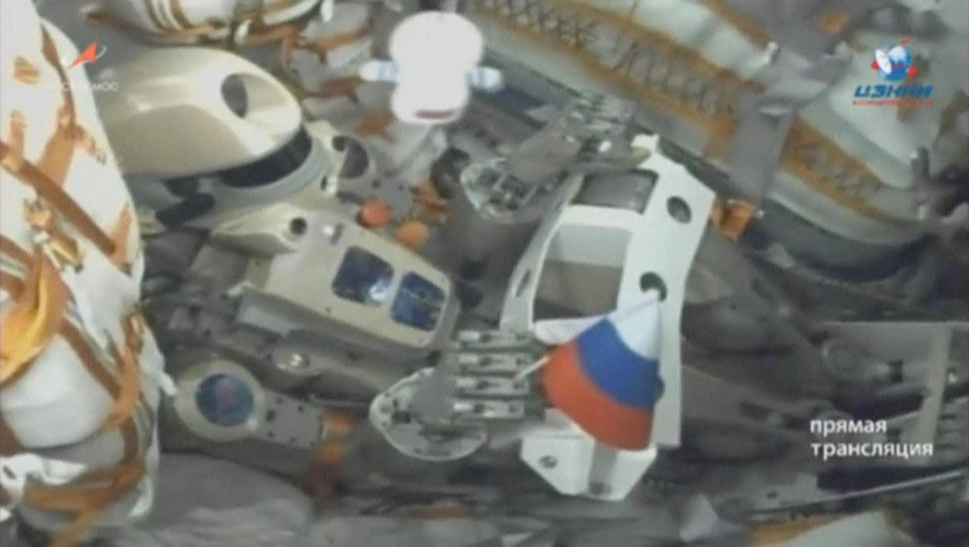 Russian Federation launches robot into space
