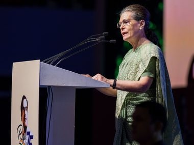 Rajiv Gandhi did not use massive poll mandate in 1984 to create fear, destroy institutions, says Sonia Gandhi