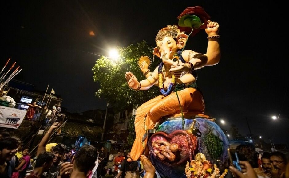 Ganesh Chaturthi: Devotees across Maharashtra celebrate as the 10-day festival culminates with visarjan