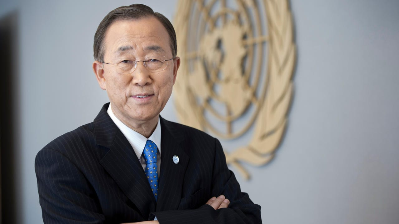 Nations must invest to protect themselves against climate change: ex-UN head Ban Ki-moon