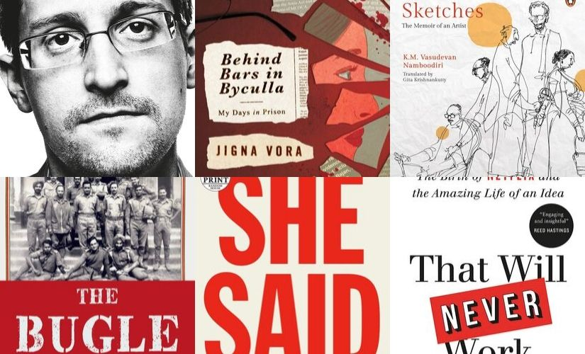 Books of the week: From Behind Bars in Byculla to Edward Snowden's Permanent Record, our picks of new memoirs