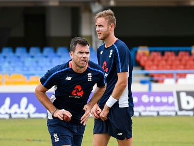 James Anderson, Stuart Broad's days of spearheading England's fast bowling attack are over, feels Michael Vaughan