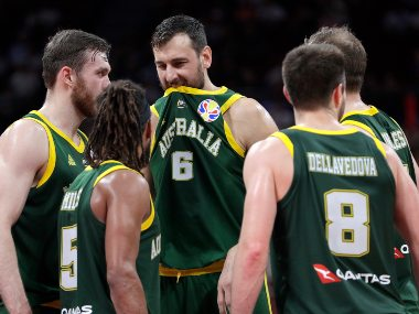 FIBA World Cup 2019: Australia's Andrew Bogut to be investigated for referee rant during semi-final loss to Spain