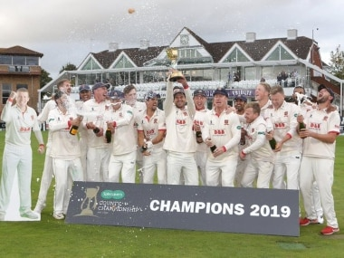Essex crowned Englands county champions after Ryan ten Doeschates men see off spirited Somerset on final day