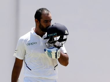 India vs West Indies: Hanuma Vihari looks forward to 'playing in-front of home crowd' after Test series heroics