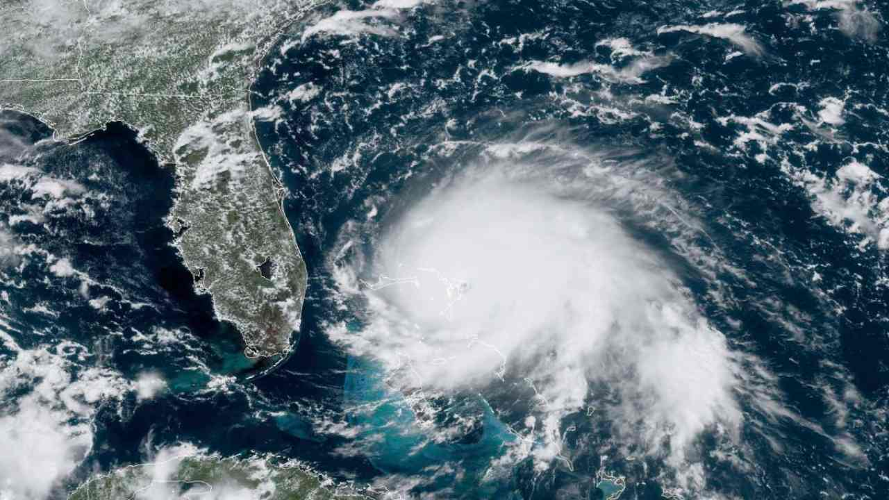 Hurricane Dorian satellite view. Image: NOAA