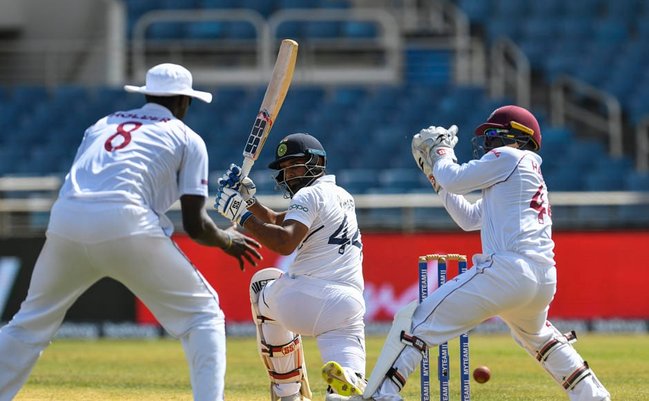 Rahane was ably supported by Hanuma Vihari, whose maiden Test ton in first innings was followed by a quick fifty to help India restore the damage. They eventually declared the innings at 168 for 4, setting Windies a target of 468 runs. AFP