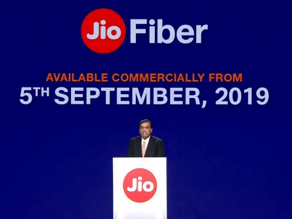 Jio Fiber now available for commercial use, plans start from Rs 699 and go up to Rs 8,499