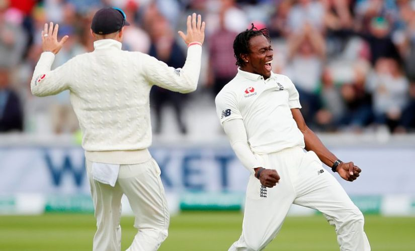 File picture of Jofra Archer. Reuters