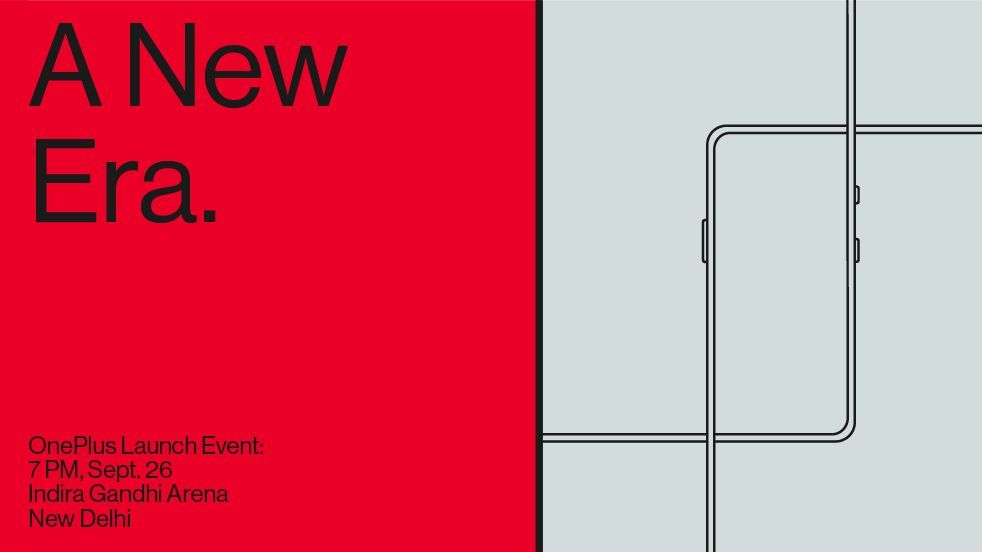 OnePlus officially confirms the launch of OnePlus 7T-series, OnePlus TV on 26 September