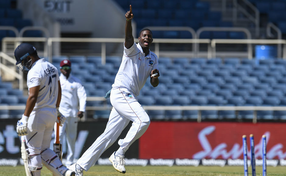 India began Day 2 on a shaky note as Jason Holder got rid of Rishabh Pant on just the first ball of the day. The Indian wicket-keeper and batsman, struggling for runs, got out on 27. He was followed by Ravindra Jadeja who spent a few minutes on the crease before getting out to Rahkeem Cornwall. From thereon, Ishant Sharma and Hanuma Vihari carried on the Indian innings. AFP