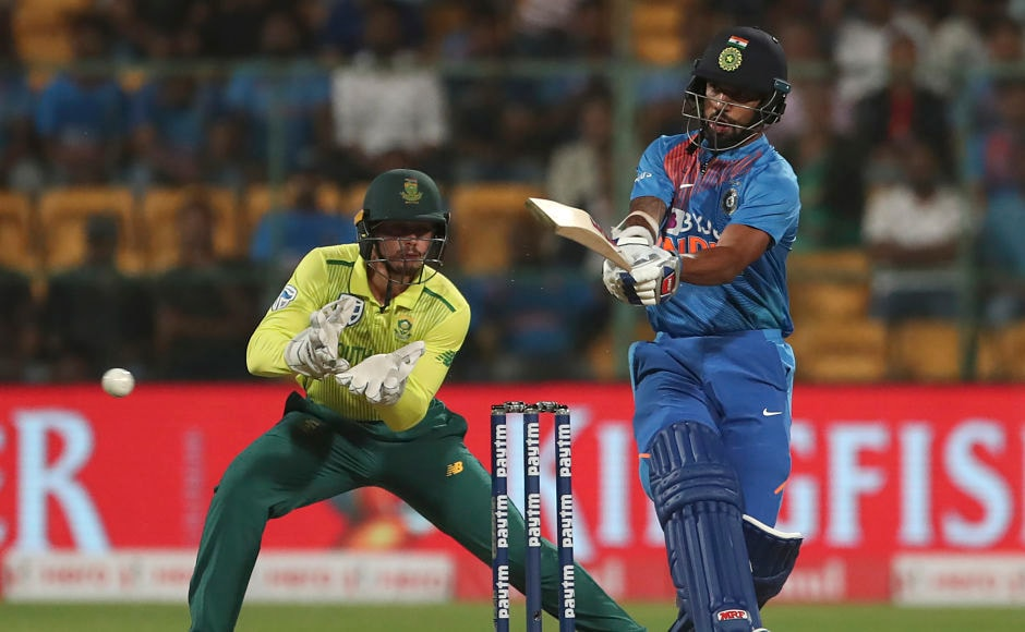 On a rare day when even Virat Kohli failed to produce a huge innings at his IPL home ground, Shikhar Dhawan rose to the occasion to give a smile on the Indian fans with a top-scoring innings of 36. His knock consisted of four fours and two sixes. AP