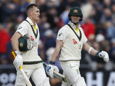 The Final Word Ashes Podcast: Listen to Geoff Lemon and Adam Collins as they discuss Steve Smith and Marnus Labuschagne's fight back on Day 1 in Manchester
