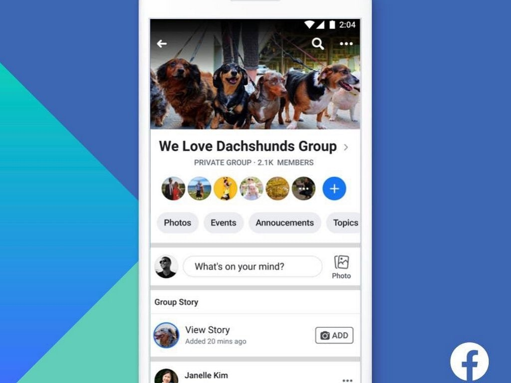 Facebook will start shutting down its group stories feature on 26 September