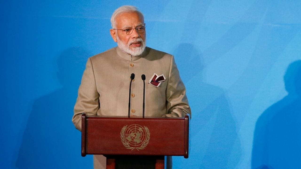 Need, not greed, has been Indias guiding principle: PM Narendra Modi Full Speech at UN Climate Action Summit 2019