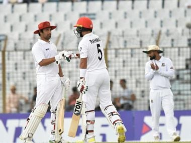 Bangladesh vs Afghanistan: Rahmat Shahs historic ton steers visitors to strong start on opening day of one-off Test
