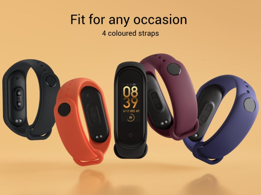 Xiaomi Mi Band 4 is priced at Rs 2,299 in India.