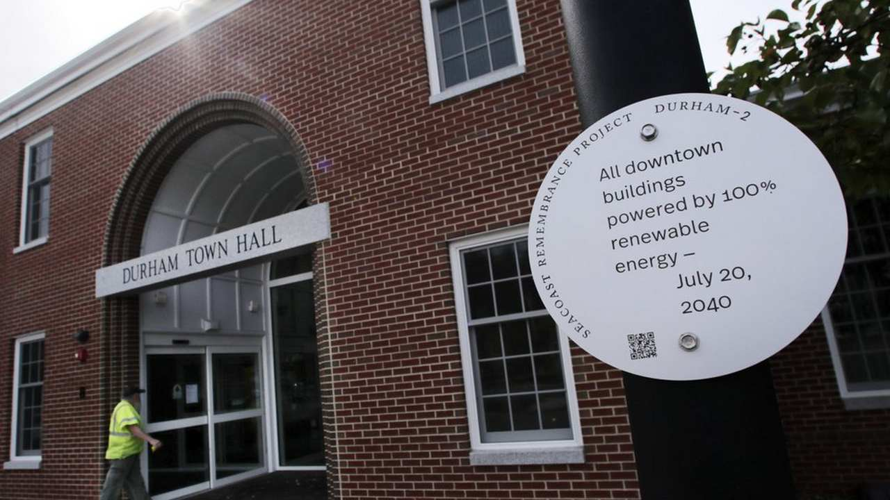 Artist uses historical markers to shed light on the effects of climate change, spread awareness