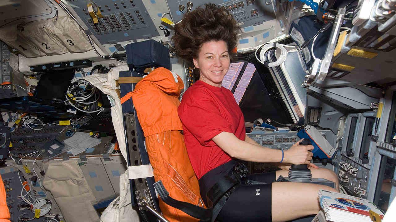 NASA astronaut Cady Coleman, Expedition 26 flight engineer. Image credit: NASA