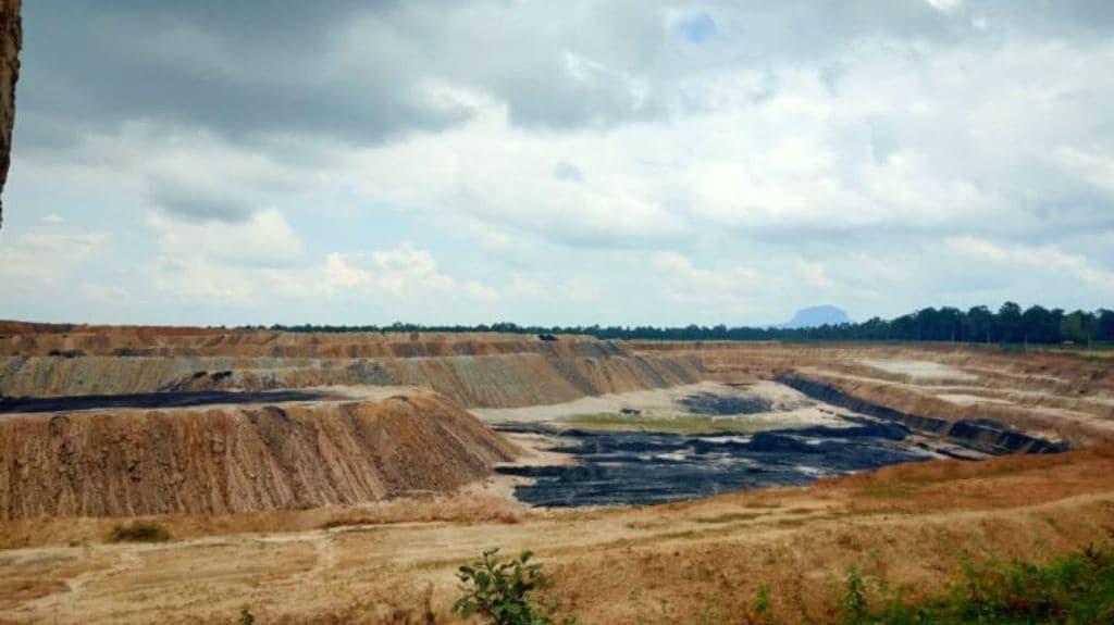 A coal mine in Chhattisgarh. Photo by Asha Verma.