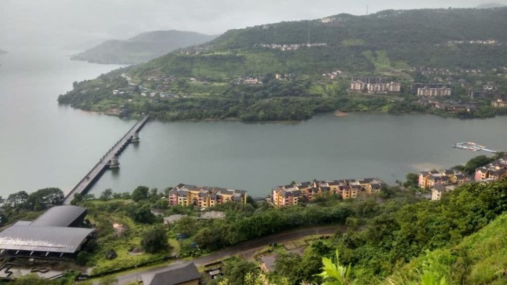 An overview of the Lavasa city. Photo by Mayank Aggarwal.