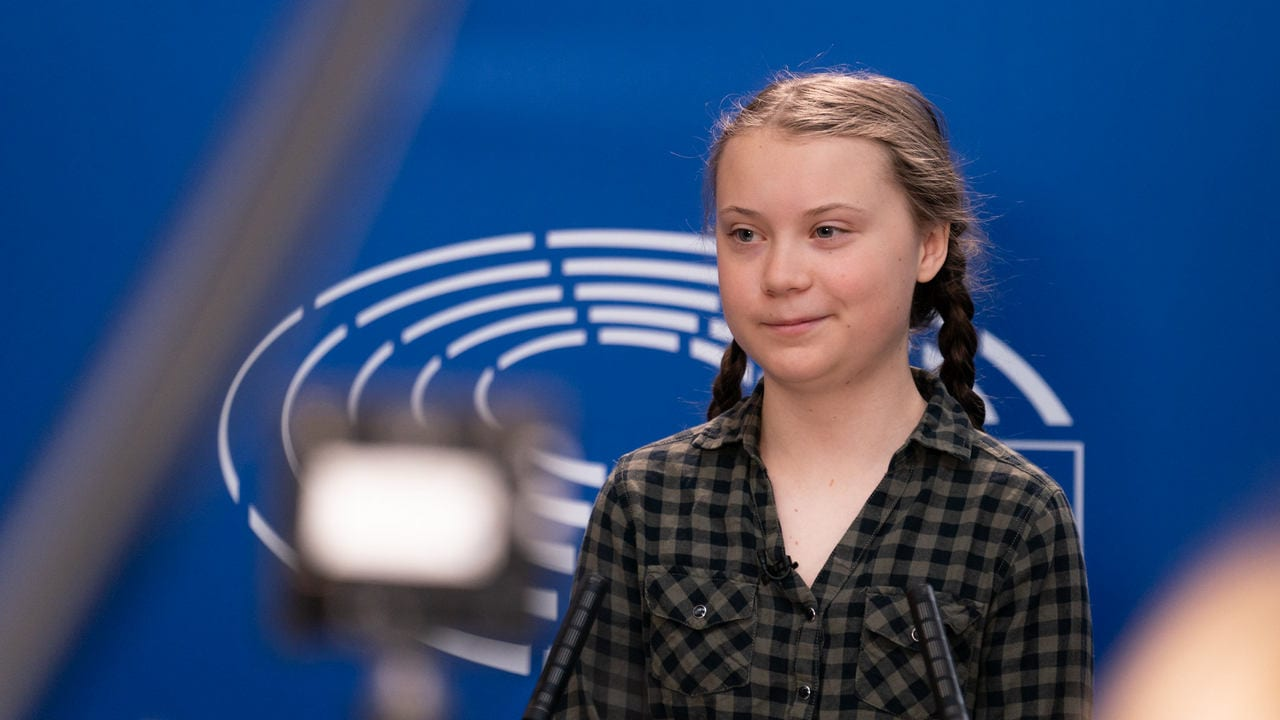 Greta Thunberg has spurned this movement in sweden. image credit: Flickr/European Parliament