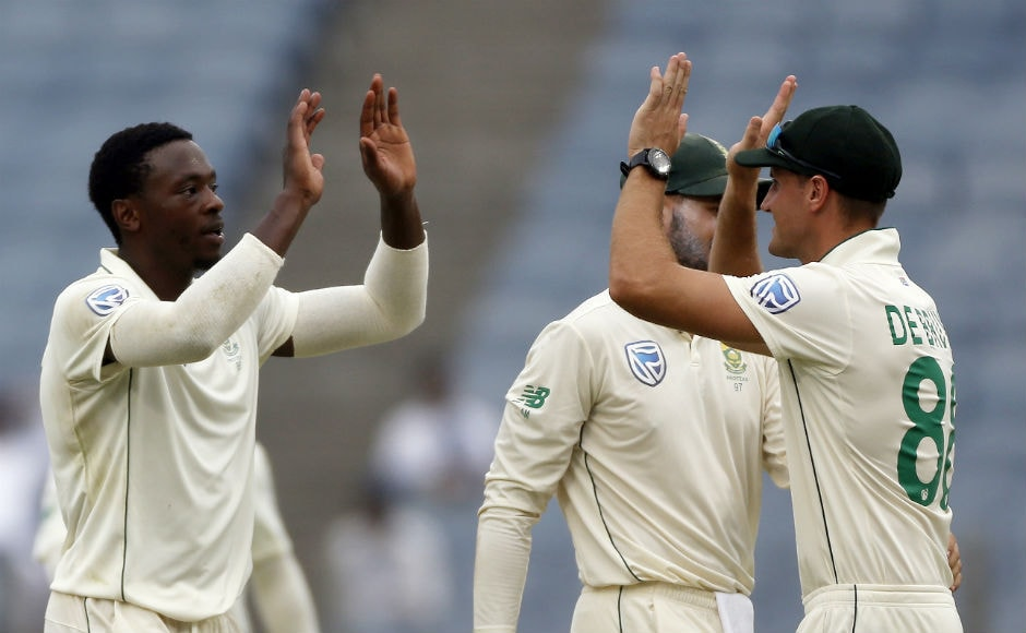 Kagiso Rabada was the pick of the South African bowlers with figures of 3/48. AP