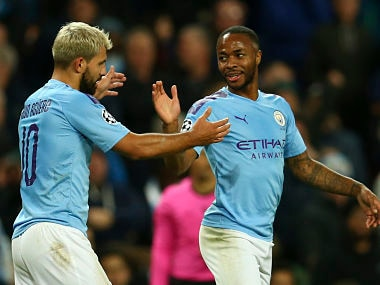 Champions League: Raheem Sterling, Kylian Mbappe score hat-tricks as Manchester City, PSG record big wins; Tottenham crush Red Star Belgrade