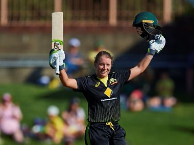 Australia's Alyssa Healy makes record-breaking 148 during third women's T20I match against Sri Lanka