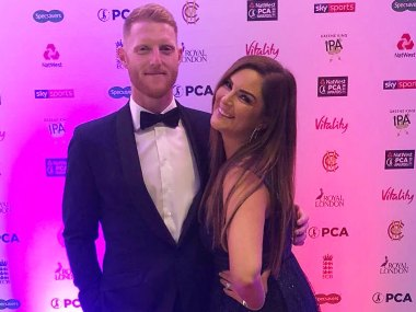Ben Stokes' wife Clare rubbishes reports of England all-rounder choking her at a party
