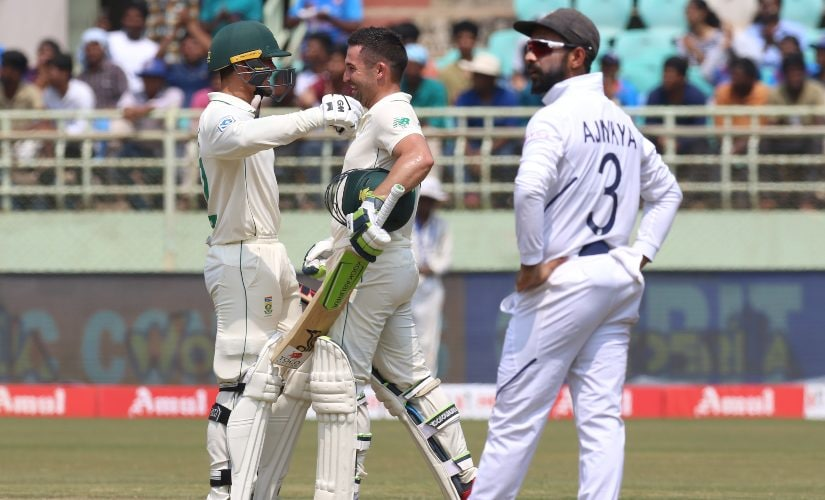 India vs South Africa: Dean Elgar, Quinton de Kock defy odds, stats to overcome R Ashwin-Ravindra Jadeja in memorable batting display