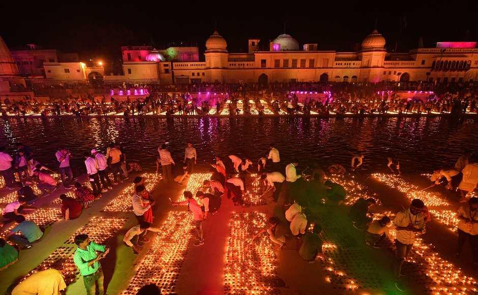 Diwali 2020 | Ayodhya Ram Madir | Deepdan
