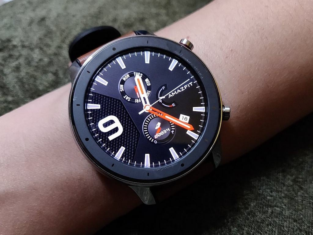 Huami Amazfit GTR (47 mm) Review: Stylish smartwatch with great battery life- Tech Reviews, Firstpost