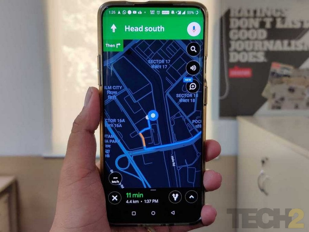 Google Maps gets dark mode in the latest update, here is how to enable it- Technology News, Firstpost