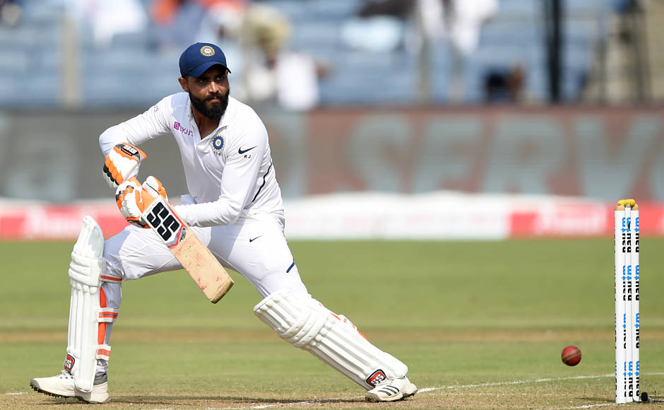 Ravindra Jadeja, who came in to bat at No 6, made good use of the promotion yet again, scoring 91 off 104 balls. His innings included 8 fours and 2 sixes. Jadeja and Kohli put on 296 runs for the fifth wicket to add to South Africa's agony. AFP
