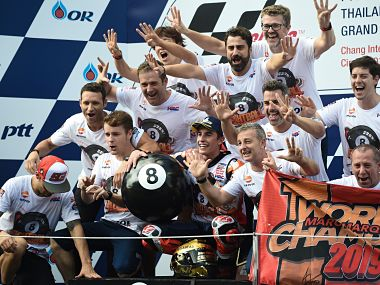 MotoGP 2019: Marc Marquez's miraculous finish to clinch title, Fabio Quartararo's dream debut season and other talking points from Thailand GP